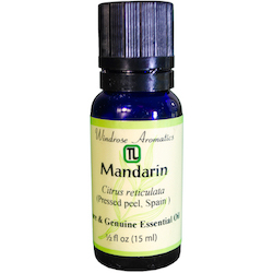 Mandarin (Spain pressed peel) Citrus reticulata Essential Oil