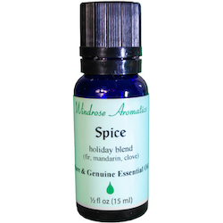 Spice (Fir, Mandarin, Clove) Essential Oil Blend