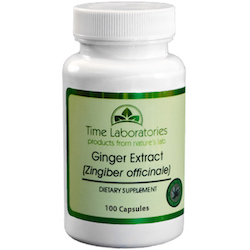 Ginger (Zingiber officinale) Capsules