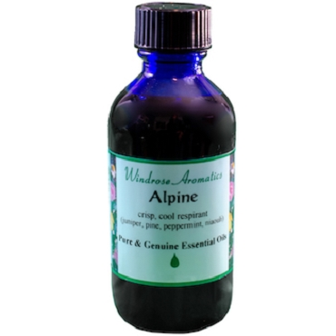 Alpine (Fir Needle, Peppermint, Juniper Berry, Niaouli) Essential Oil Blend (2oz)