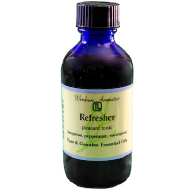 Refresher (Orange, Tangerine, Grapefruit, Eucalyptus, Peppermint) Essential Oil Blend (2oz)